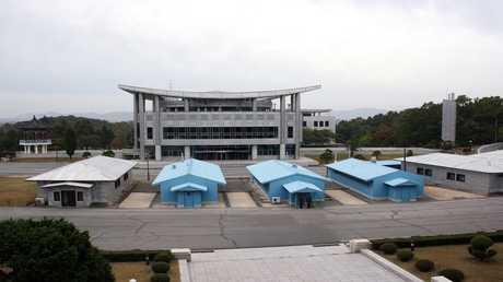 أرشيف - الحدود بين الكوريتين الجنوبية والشمالية