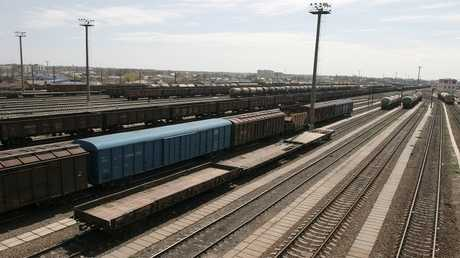محطة قطارات - صورة تقريبية -