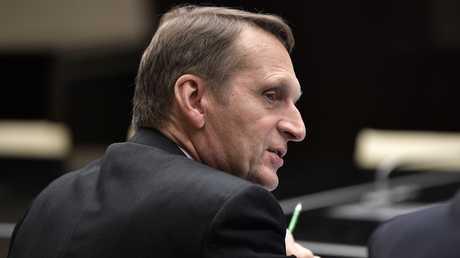 مدير الاستخبارات الخارجية الروسية سيرغي ناريشكين