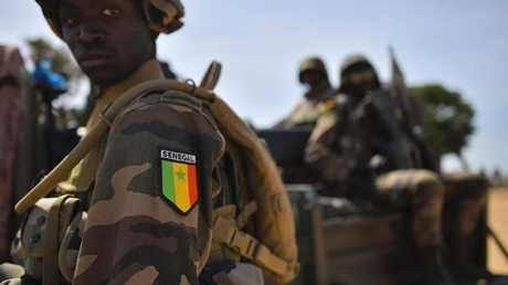 عنصر من القوات السنغالية - أرشيف -