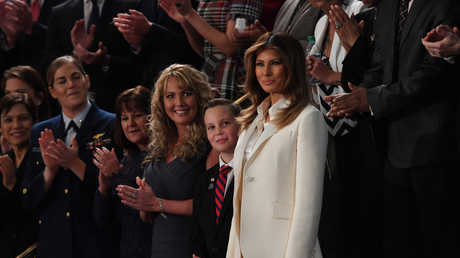 ميلانيا ترامب زوجة الرئيس الأمريكي