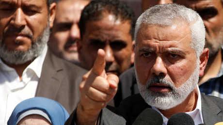 """رئيس المكتب السياسي لحركة """"حماس""""، إسماعيل هنية"""