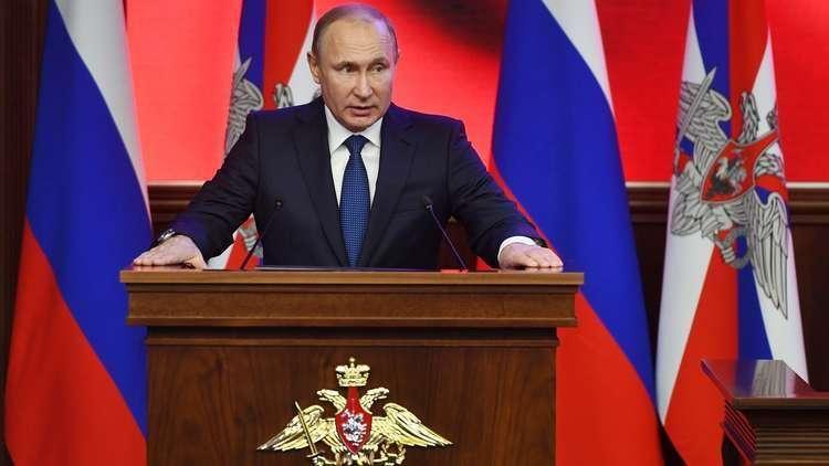 بوتين: قرار محكمة التحكيم الرياضية يؤكد براءة أغلب الرياضيين الروس من تعاطي المنشطات