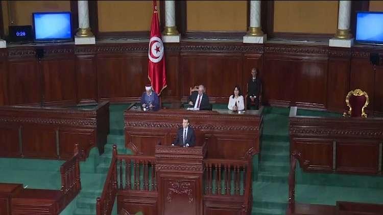 خطاب ماكرون أمام البرلمان التونسي