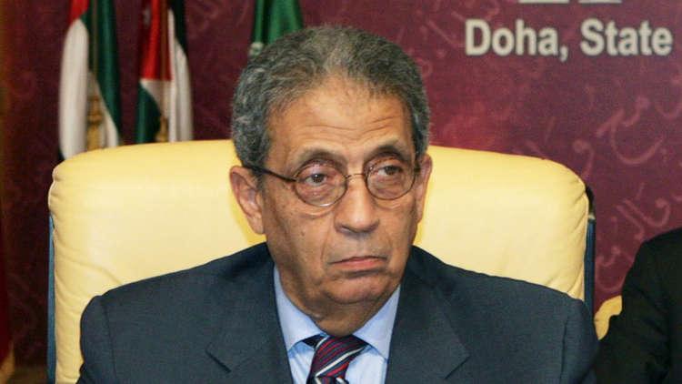 كيف وصف عمرو موسى فوز السيسي في الانتخابات المصرية المقبلة؟