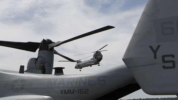 إقالة قائد سرب طائرات تابع للمارينز في المحيط الهادئ