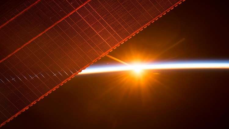 رصد المحطة الفضائية الدولية أمام