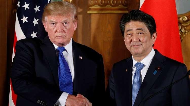 ترامب وآبي يناقشان قدرات اليابان الدفاعية