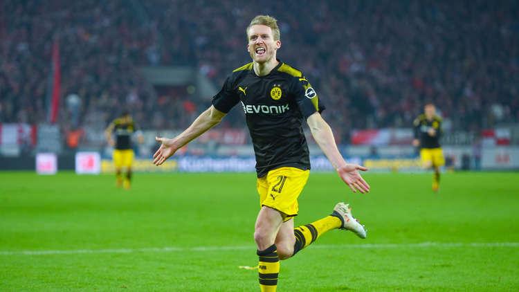 الدوري الألماني.. دورتموند يعود بالنقاط من أرض كولن بعد مباراة مثيرة