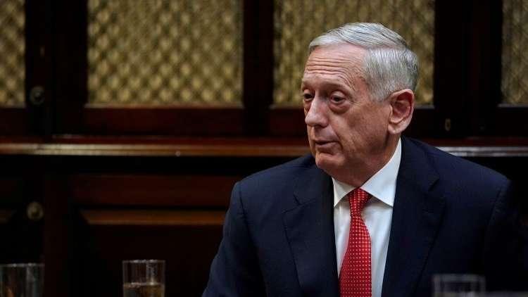 ماتيس: نريد تحقيق شروط في سوريا تمكننا من المشاركة بحرية أكبر في مفاوضات جنيف