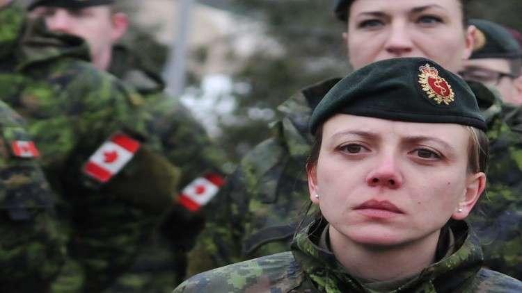 مناورات عسكرية كندية في القطب الشمالي