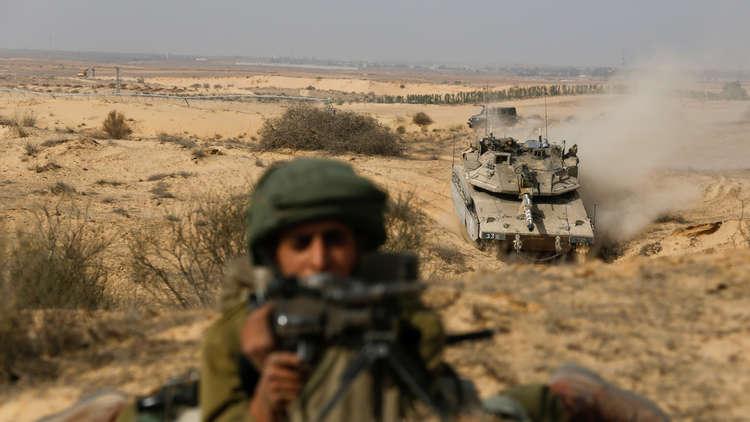 إسرائيل تبدأ مناورات عسكرية على الحدود مع مصر وقطاع غزة في الجنوب