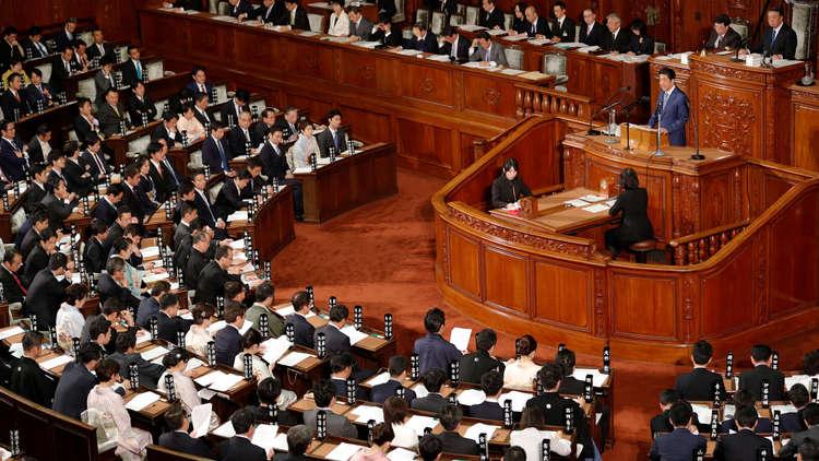البرلمان الياباني يتدرب على مواجهة الصواريخ الكورية