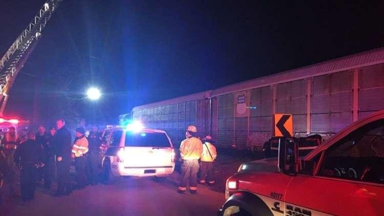 قتلى وجرحى بتصادم قطارين في الولايات المتحدة