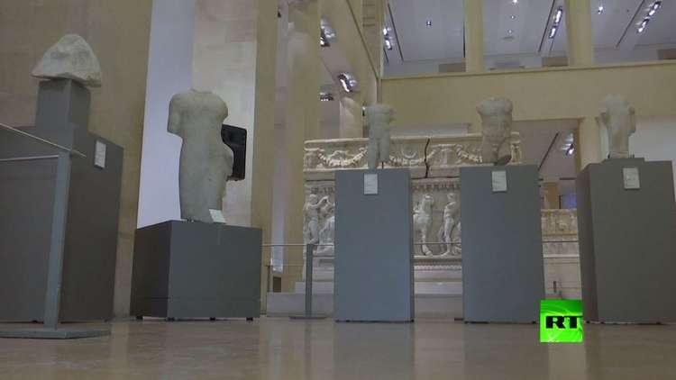 بيروت تعرض تماثيل أثرية بعد استراجعها