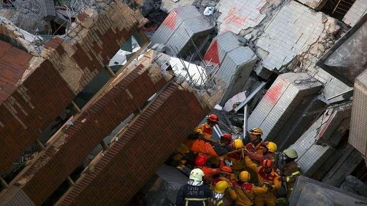 4 هزات أرضية تشل حركة القطارات في تايوان