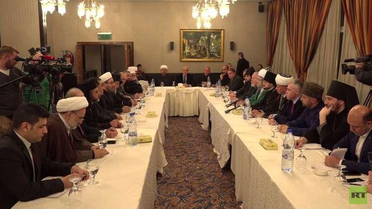 وفد ديني روسي يحمل مساعدات للشعب السوري