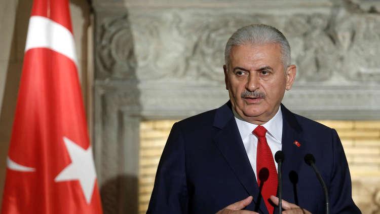 يلدريم: استهدفنا بأكثر من 90 صاروخا من الأراضي السورية