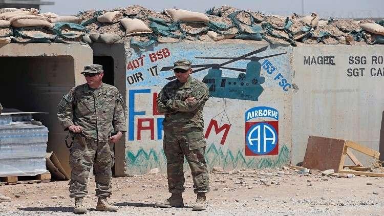 واشنطن تخفض عدد قواتها في العراق