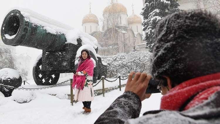 بريطانيون عن ثلوج روسيا: ماذا لو كانت هذه القيامة عندنا؟