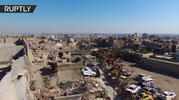 لقطات توثق حالة الموصل الكارثية