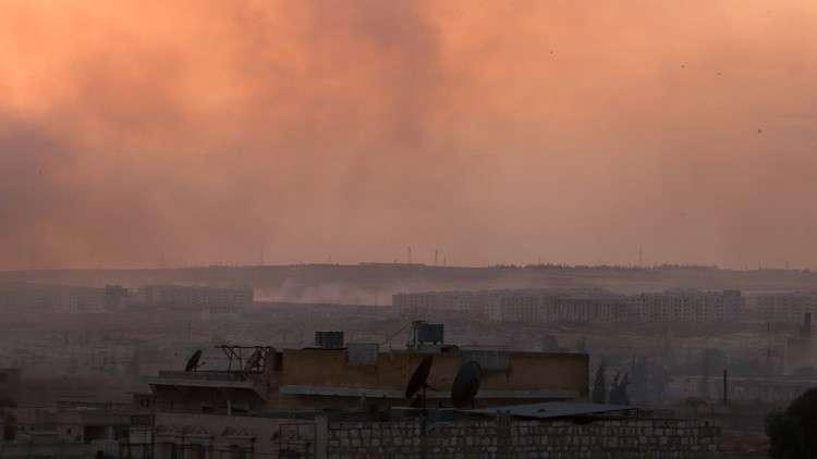 الجيش السوري يقصف نقطة تمركز تركية جنوب حلب!