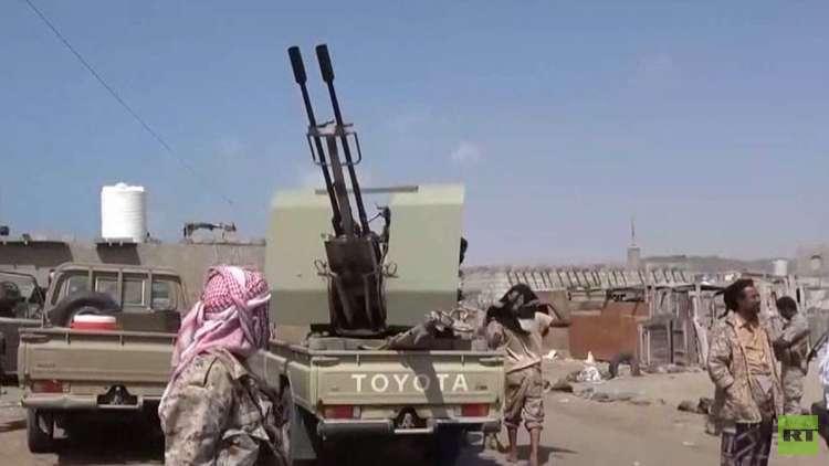 قوات هادي تعلن تقدمها في الحديدة وتعز