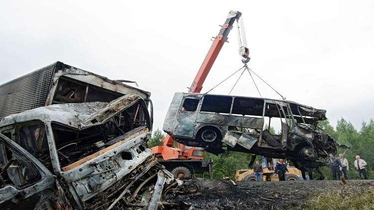 مقتل 9 أشخاص بحادث سير غربي روسيا