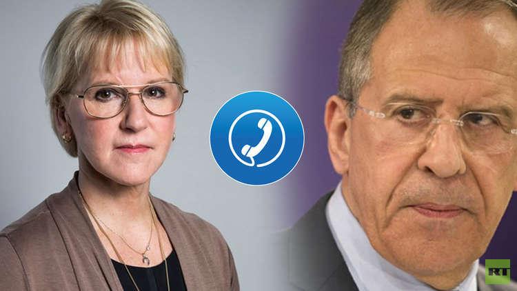 السويد تأسف للاعتداء على مقار رسمية روسية في ستوكهولم