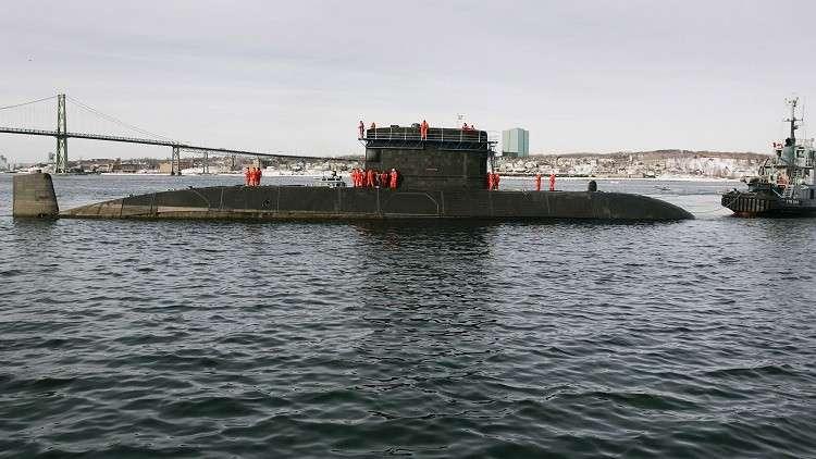 غواصة كندية ترصد حركة الملاحة بمحاذاة سواحل كوريا الشمالية