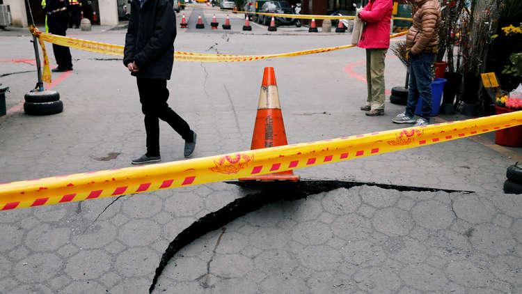 زلزال جديد بقوة 5,7 درجة يضرب الساحل الشرقي لتايوان