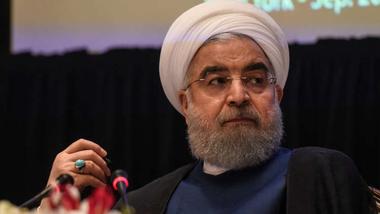 روحاني: هناك من يحاول أن يغير الحدود في شمال سوريا بعد فشله في شمال العراق