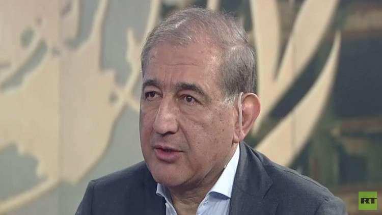 رئيس منصة موسكو وأمين حزب الإرادة الشعبية السوري قدري جميل