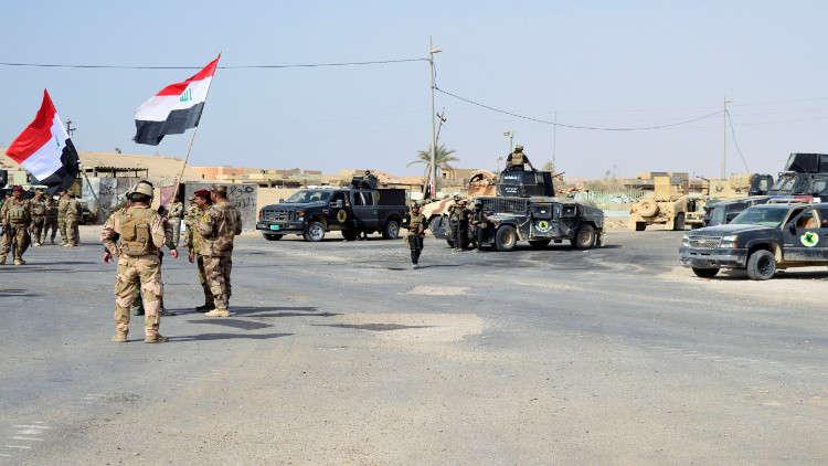 قوات عراقية تكتشف أنفاقا خلال حملتها ضد تنظيم
