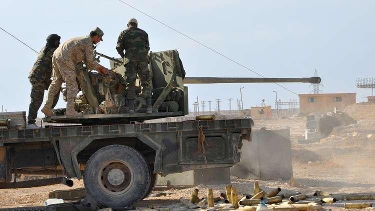 الإعلام السوري يتحدث عن ضحايا جراء قصف التحالف لقوات رديفة للجيش