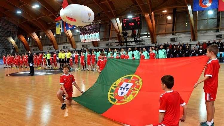 البرتغال تبلغ نهائي بطولة أوروبا لكرة القدم داخل الصالات