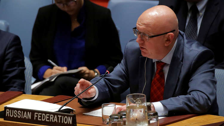 موسكو مخاطبة واشنطن في مجلس الأمن: وجودكم في سوريا غير قانوني وهجوم دير الزور جريمة