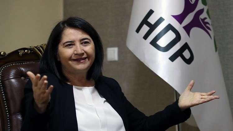 النيابة العامة التركية تأمر باعتقال قيادية معارضة بارزة