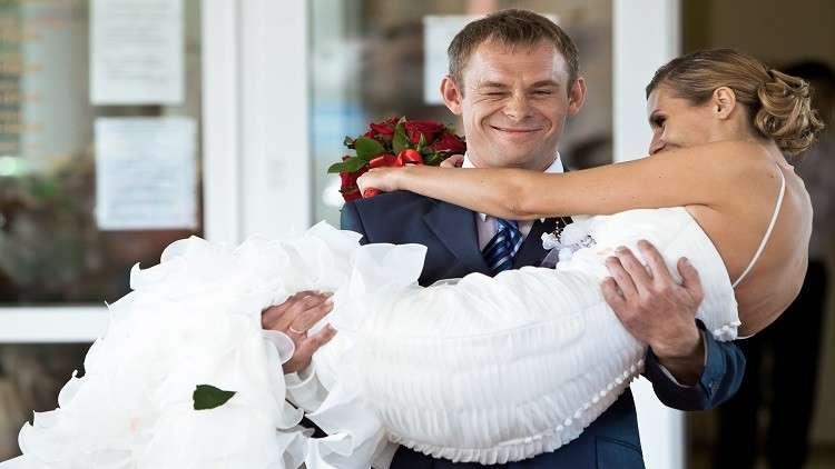 نحو 100 ألف زفاف في موسكو العام الماضي