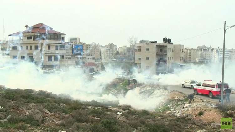 إصابة 57 فلسطينيا بالرصاص في مواجهات