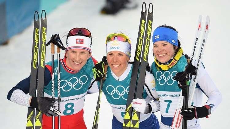 الذهبية الأولى لأولمبياد 2018 تذهب إلى السويد