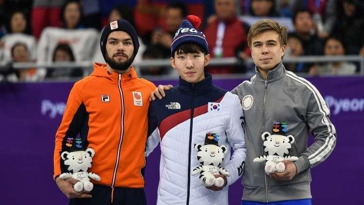 الروسي يليستراتوف يهدي بلاده الميدالية الأولمبية الأولى