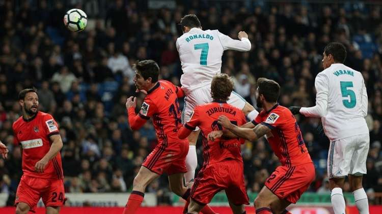 بالفيديو.. ريال مدريد يصب جام غضبه على ضيفه سوسييداد