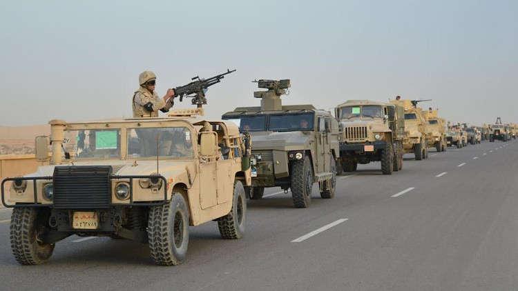 الجيش المصري يعلن أولى نتائج عملية
