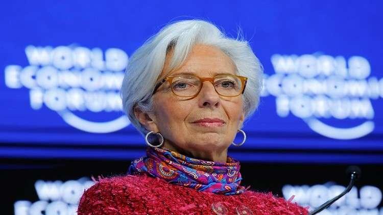 مديرة صندوق النقد تقلل من شأن تقلبات البورصات الأخيرة