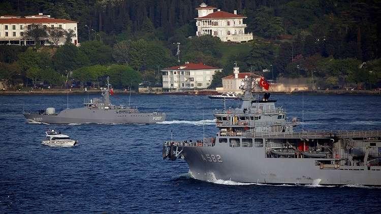 رغم تحذيرات مصر.. تركيا تتحرك عسكريا لمنع عملية تنقيب في المتوسط 5a80522595a59734518b45c1