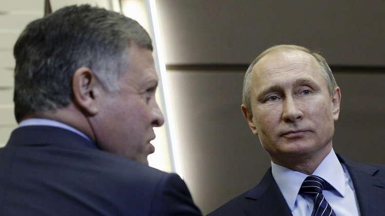 بوتين يجتمع مع الملك عبد الله في موسكو الخميس