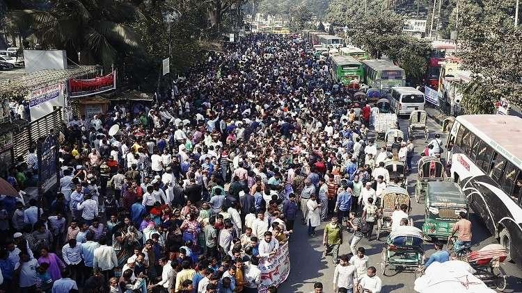 المعارضة في بنغلاديش تطالب بالإفراج عن زعيمتها