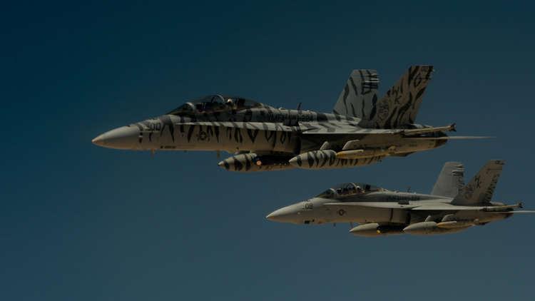 البنتاغون: لم نرفع مستوى الخطر لقواتنا الجوية في سوريا