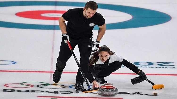 الرياضيون الروس يتوّجون بثالث ميدالية في أولمبياد بيونغ تشانغ